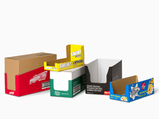 DISPLAY BOXES – Shelf Ready Packaging